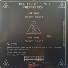 Нагревательная панель 200х200х3мм Alu MK3