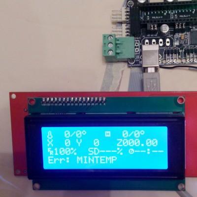 2004 LCD Модуль управления