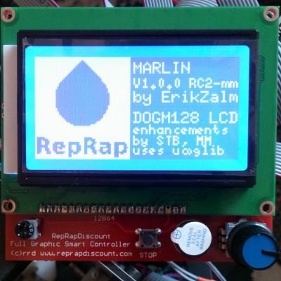 12864 LCD Модуль управления