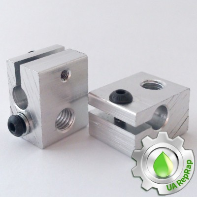 Нагревательный блок E3D 20х16х11,5 мм