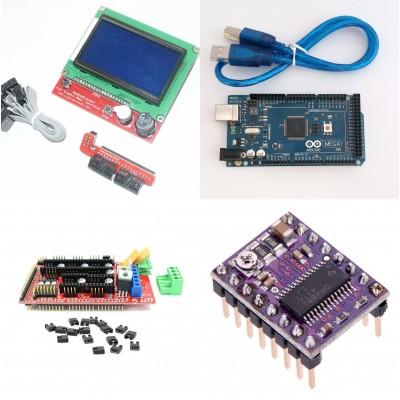 Набор электроники для 3D принтера (128х64 / 16U2 / drv8825)