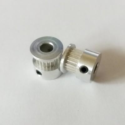 Шкив 20 : вал 6 мм : GT2 - 6 мм